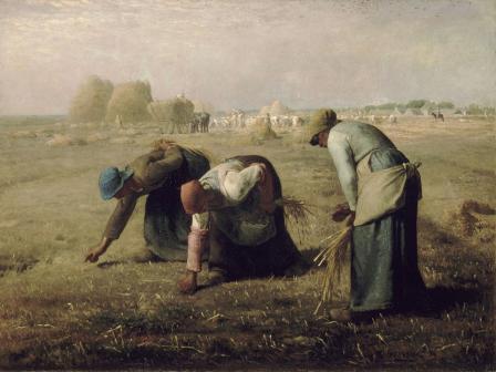 Les glaneuses - Jean-François Millet 1857