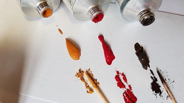 Aquarelle pigment
