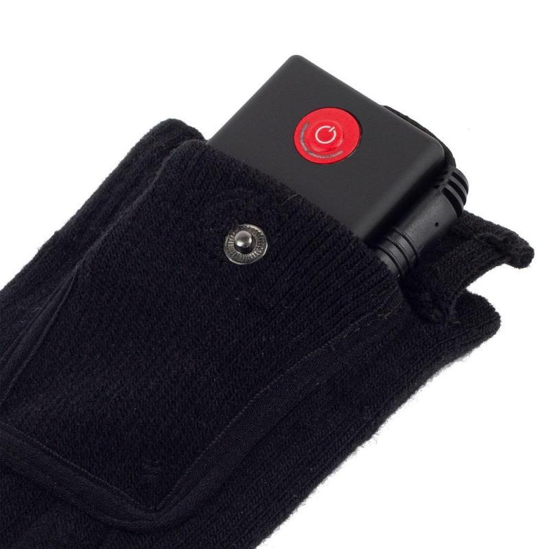 Chaussettes2 chauffantes place batterie