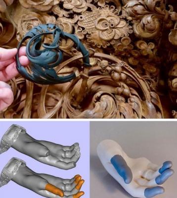 Une très belle restauration en 3D