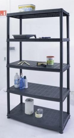 L'étagère vendue chez Bricorama en version 5 planches