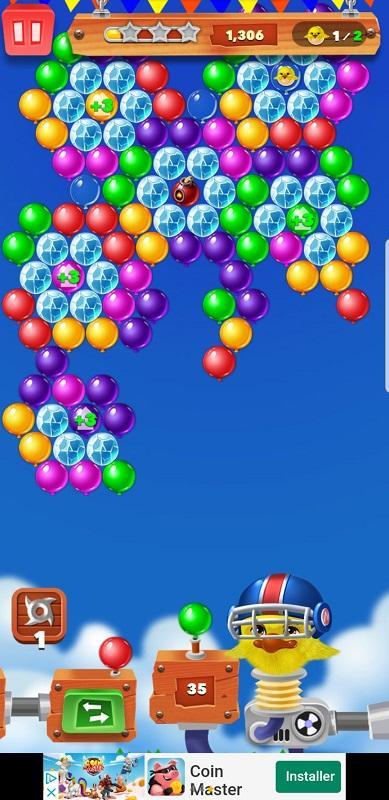 Balloon fly bubble
