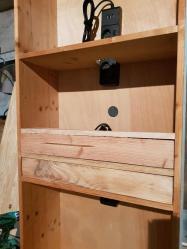 Deuxième tiroir achevé