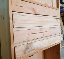 Les 4 tiroirs achevés et fermés