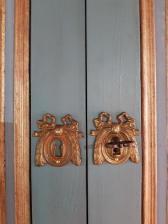Les cache-serrures de style Louis XVI