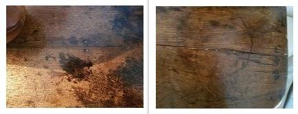 Les taches noires du bois